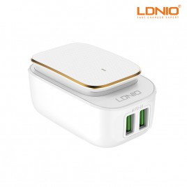 LDNIO LED Touch Lamp with USB Port Adaptive Fast Charger (A2205)