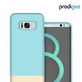 PRODIGEE Collection Accent for Galaxy S8 - Aqua Gold