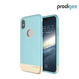 PRODIGEE Collection Fit Pro for iPhone X / XS - Aqua Gold