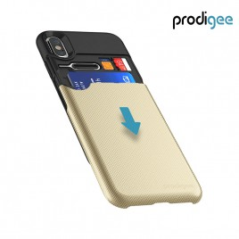PRODIGEE Collection Undercover for iPhone X / XS - Gold