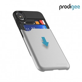 PRODIGEE Collection Undercover for iPhone X / XS - Silver