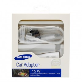 OEM Samsung Micro USB Adaptive Fast Car Charger
