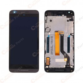 HTC Desire 626 LCD Screen Assembly With Frame - Black