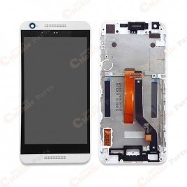 HTC Desire 626 LCD Screen Assembly With Frame - White