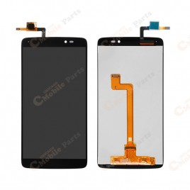 OneTouch IDOL 3 LCD Assembly Without Frame - Black