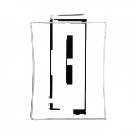 iPad 3 / iPad 4 LCD Frame with Tape - White