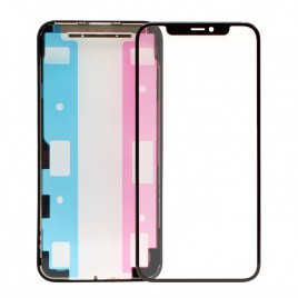 iPhone 11 Pro Front Glass (Pre-installed OCA Glue) & LCD Frame Set