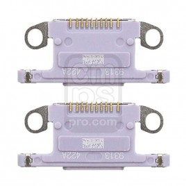 iPhone 11 Dock Connector Charging Port ( 2 Pieces ) - Purple