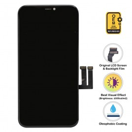 iPhone 11 LCD Assembly (OEM Grade. Refurbished) – Black
