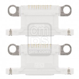 iPhone 12 / 12 Mini Dock Connector Charging Port ( 2 Pieces ) - White