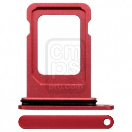 iPhone 12 Single Sim Card Tray - Red