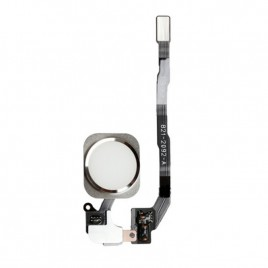 iPhone 5S / SE Home Button Flex Cable - Silver