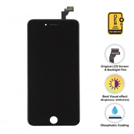 iPhone 6 Plus LCD Assembly (OEM Grade. Refurbished) – Black