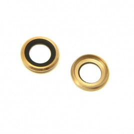 iPhone 6 / 6S Back Camera Lens - Gold (2 Set)