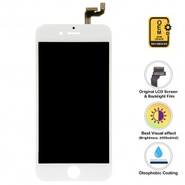 iPhone 6S Plus LCD Assembly (OEM Grade. Refurbished) – White