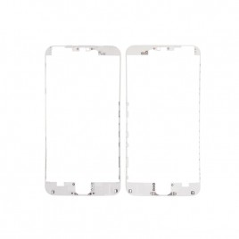 White Front Middle Frame with Glue for iPhone 6S (x10)