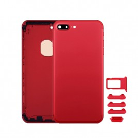 iPhone 7 Plus Back Housing (Includes Small Components) - Red