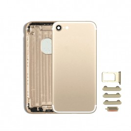 iPhone 7 Back Housing (Includes Small Components) - Gold