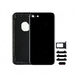 iPhone 7 Back Housing (Includes Small Components) - Jet Black