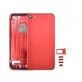 iPhone 7 Back Housing (Includes Small Components) - Red