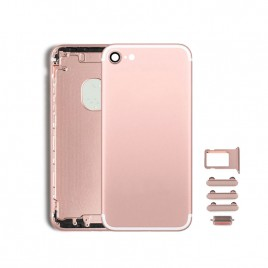 iPhone 7 Back Housing (Includes Small Components) - Rose Gold