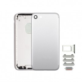 iPhone 7 Back Housing (Includes Small Components) - Silver