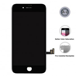 iPhone 8 Plus LCD Assembly (Aftermarket Plus) – Black