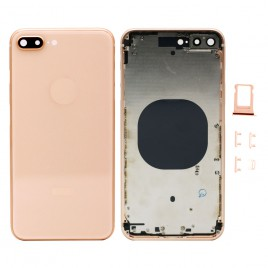 iPhone 8 Plus Back Housing with Camera Lens - Gold