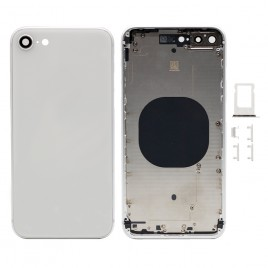 iPhone 8 Plus Back Housing with Camera Lens - Silver