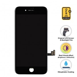 iPhone 8 LCD Assembly (OEM Grade. Refurbished) – Black