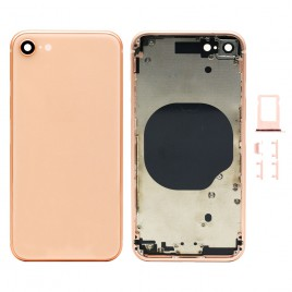 iPhone 8 Back Housing with Camera Lens - Gold