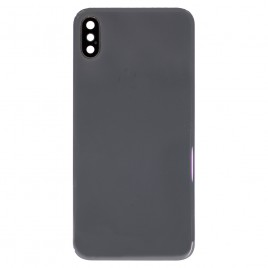 iPhone X Back Glass Cover with Back Camera Lens - Space Gray