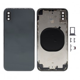 iPhone X Back Housing with Camera Lens - Space Gray