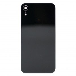 iPhone XR Back Glass Cover With Camera Lens - Black