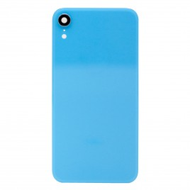 iPhone XR Back Glass Cover With Camera Lens - Blue