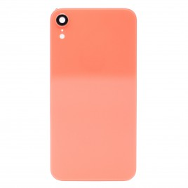 iPhone XR Back Glass Cover With Camera Lens - Coral