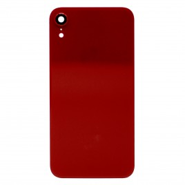 iPhone XR Back Glass Cover With Camera Lens - Red