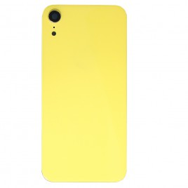 iPhone XR Back Glass Cover With Camera Lens - Yellow