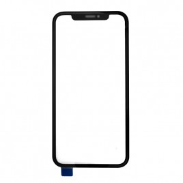 iPhone XR Front Glass Frame Assembly (Pre-installed OCA Glue) - Black