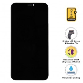 iPhone XS Max OLED (Super Retina HD LCD) Assembly (OEM Grade. Refurbished) – Black