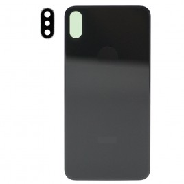 iPhone XS MAX Back Glass Cover with Camera Lens - Space Gray