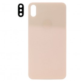iPhone XS MAX Back Glass Cover with Camera Lens - Gold