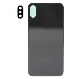 iPhone XS Back Glass Cover with Camera Lens - Space Gray