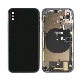 iPhone XS Back Housing (Pre-installed Components and Flex Cables) - Space Gray