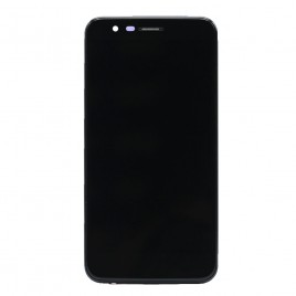 LG K30 LCD Touch Screen Assembly With Frame (X410) -BLACK