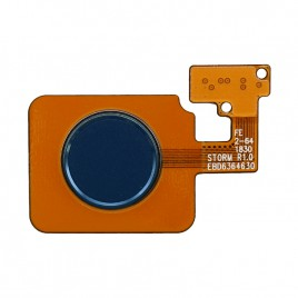 LG V40 	 Fingerprint Scanner Flex Cable - Blue