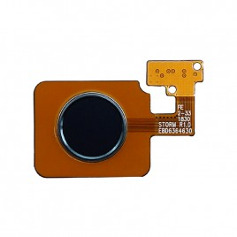 LG V40 	 Fingerprint Scanner Flex Cable - Black