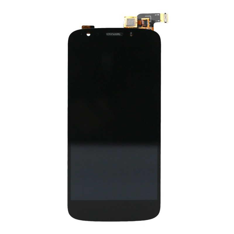 MOTO E5 Play LCD Assembly Without Frame - Black