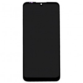 MOTO E6 Plus LCD Screen Assembly Without Frame - Black