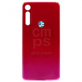 MOTO G8 Play Back Cover - Magenta Red